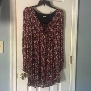 Hollister Floral Dress Size Small